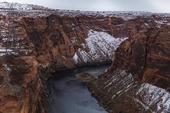 Glen Canyon (CraDorPhoto) Tags: canon5dsr landscape river water canyon winter snow arizona usa outdoors nature