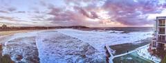 Bondi Beach (FlavioSarescia) Tags: bondibeach sydney iphone summer sunrise sea hss ocean sunlight australien australia pool swim surf meer ferien panorama panoramic landscape nature