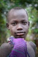 Suri Boy (Rod Waddington) Tags: africa african afrique afrika äthiopien ethiopia ethiopian ethnic ethnicity etiopia ethiopie etiopian minority omovalley omo omoriver outdoor suri tribe traditional tribal culture cultural portrait people child