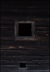 OW XXIII ([ Time - Beacon ]) Tags: tb texture minimal window wooden wall timber old building broken decay rural barn