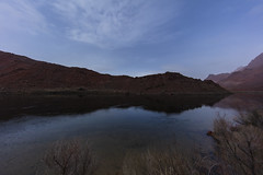 Reflecting Colorado (CraDorPhoto) Tags: canon5dsr landscape waterscape river colorado sky clouds mountains reflection calm nature outside outdoors usa arizona