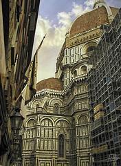 nothing says Florence like Brunelleschi... or... (ellynwriting - slowmode) Tags: florence firenze renaissance leonardo botecelli brunelleschi boticelli masaccio davinchi giotto santamariadelfiori tuscany