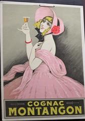 Affiche pour le cognac Montangon - Musée des Arts du cognac, Cognac (16) (Yvette G.) Tags: cognac 16 charente poitoucharentes nouvelleaquitaine musée muséedesartsducognac