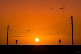 Amanecer red 8x12 web (ulrikestein) Tags: bcs sanjosédelcabo amanecer contraluz expo2015final playa sol voleybol