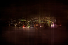 eversince (thomas o myers) Tags: thomasomyers thomasoliviermyers contemporaryart contemporaryphoto art multiexposure newmediaart digitalphoto nikon adobe photoshop contemporaryartphotographer artphotographer photocompositions colorphoto highres highrespicture 1080p urbanpicture urban city architecture buildings cityscape street paris france pompidou museum museumofart centregeorgespompidou by night green tube metal