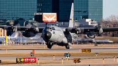 MSP 96-1004 (Moments In Flight) Tags: minneapolisstpaulinternationalairport kmsp msp mspairport mn ang airnationalguard minnesota 961004 61004 1004 5423 usaf usairforce c130h aviation airplane turboprop transport cargo military 109as
