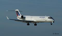 Bombardier  CRJ700 ~ F-GRZD  Air France / Brit Air (Aero.passion DBC-1) Tags: spotting cdg 2009 dbc1 david biscove aeropassion avion aircraft aviation plane airport bombardier crj700 ~ fgrzd air france brit