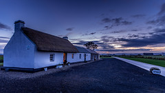 Thatched cottage (jac.photography49) Tags: clouds canon cottage donegal downhill exposure fullframe foyle fauna field grass ngc images ireland view wideangle lough loughfoyle magilligan northernireland reflections sky thatch sunset w