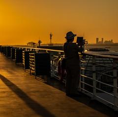 shanghai port (skram1v) Tags: shanghai cruiseport tablet lens recording nearlyvacant photographer sunrise china oct2018