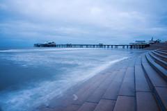 Early Morning, Blackpool (nickcoates74) Tags: 1650mm a6300 beach blackpool coast fylde ilce6300 lancashire morning northpier pier seaside sel1650 sony affinityphoto uk