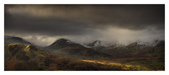 Snowdonia - January 19th (Edd Allen) Tags: mountain northwales wales clouds dinorwig landscape mountainscape atmosphere atmospheric sunrise nikond810 nikkor70200mm serene bucolic uk dinorwic pano panorama