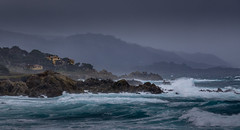 Stormy Day (Rick Derevan) Tags: ocean waves 17miledrive cypresspoint monterey pacific storm stormy montereypeninsula pacificocean