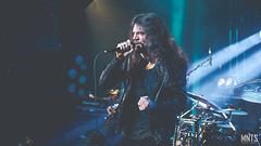Nailed To Obscurity - live in Kraków 2019 fot. Łukasz MNTS Miętka-18