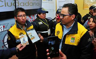 SMSC PRESENTA  UNIFORMES Y CREDENCIALES PARA FUNCIONARIOS DE LA INTENDENCIA Y GUARDIAS MUNICIPALES (2)