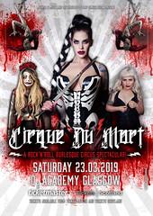 Cirque de Mort | Poster Artwork 3  (2019) (THE PIXELEYE // Dirk Behlau) Tags: dirkbehlau pixeleye cirquedumort death danger show showgirls
