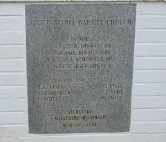 Little Bethel Baptist Church Dalphne, Al Nikon D7200 (King Kong 911) Tags: building church markers4 stores traveling5