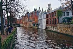 Bruges (Jurek.P2 - new account) Tags: brugia bruges belgia belgium kanał canal architecture europe europa water cityscape jurekp2 sonya500