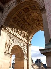 DSCF2143 (camconde) Tags: louvremuseum louvre muséedulouvre paris france architecture fujifilmx20 arcdetriompheducaroussel