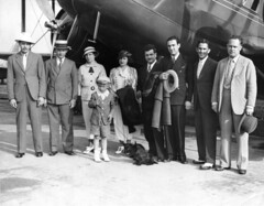 airlines personnel american airlines inc. left to right pilots russell arden of los angeles and robert w. centwell of chicago the latter in charge of flight mrs centwell and seven year old son robert going to ft. worth senor lucas of chile pilots adalbert (San Diego Air & Space Museum Archives) Tags: curtisscondor airlines airliners aviation aircraft airplane biplane curtiss curtisst32condorii curtisst32 curtisscondorii condorii condor wrightaeronautical wrightr1820cyclone wrightr1820 wrightcyclone r1820 wrightcycloner1820 wrightscr1820cyclone wrightscr1820 scr1820 scr1820cyclone wrightscr1820f3cyclone scr1820f3