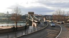 Chain Bridge Roadway (hansntareen) Tags: budapest budacastle chainbridge rodaway street 2018