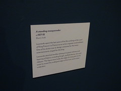 Leonardo da Vinci - A life in drawing - Birmingham Museum & Art Gallery - A standing masquerader c. 1517-18 (ell brown) Tags: chamberlainsquare birmingham westmidlands england unitedkingdom greatbritain birminghammuseumartgallery bmag museum birminghammuseumandartgallery birminghammuseums birminghamcitycouncil artscouncilengland leonardodavinci leonardodavincialifeindrawing royalcollection printroom astandingmasqueraderc151718 sign