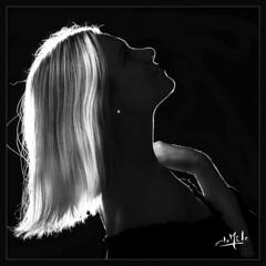 Laurie - Ma première séance de portrait en studio / My first studio portrait session (christian_lemale) Tags: laurie verhelst portrait femme woman nn bw jouélèstours france nikon d7100 jouéimages
