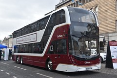 Lothian Buses - 1063 - SG68LCA (Transport Photos UK) Tags: adamnicholson transportphotosuk transport bus scotland georgestreet e400xlb alexanderdennis volvob8l lothianbuses lothianregionaltransport bus2020 edinburgh