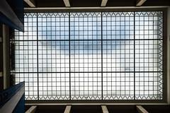 White Blue Sky in the Atrium (*Capture the Moment*) Tags: 2017 architecture atrium dach fotowalk glas häuserwohnungen innen innenarchitektur interiordesign munich münchen roof sonya7m2 sonya7mii sonya7mark2 sonya7ii sonyfe1635mmf4zaoss sonyilce7m2 stefan zentralinstitutfürkunstgeschichte ehemaligerverwaltungsbaudernsdap formeradministrativebuildingofthenationalsocialistparty