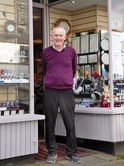 Dafydd Ellis Porthmadog (Martin Pritchard) Tags: watchmaker jeweller porthmadog grandfather clocks clogau north wales