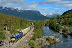 2014  95809  N (Maarten van der Velden) Tags: noorwegen norway norwegen norvège norge noruega bjorli cargolink cargolinkt66k714 class66 train5902