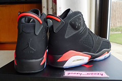 Nike Air Jordan VI 6 Retro 'Infrared' (384664 023) ('14). (gooey_wooey) Tags: nike air nikeair jordan airjordan retro vi 6 infrared classic basketball model sneakers trainers kicks 2014