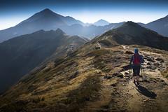 hiking in Tatra (Ela Dzimitko) Tags: polska tatry zakopane tatra poland tatryzachodnie hiking hillwalking mountains ridge eladzimitko stunningoutdoors canon5dmk4 canon2470f28