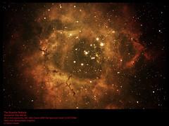 NGC 2237 Rosette Nebula stacked-ps56mV2 (simon.dawes) Tags: ngc2237 rosettenebula starcluster nebula astronomy dslr