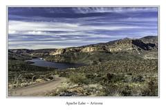 Apache Lake, Arizona (TAC.Photography) Tags: arizona arizonapassages apachelake mountains apachetrail lake water desert nikoncamera nikon 2019 d7500