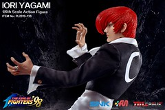 PHICEN PL2019-133 Iori Yagami 八神庵 SNK King of Fighters - 08 (Lord Dragon 龍王爺) Tags: 16scale 12inscale onesixthscale actionfigure doll hot toys phicen tbleague seamless
