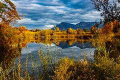 Palette de couleurs automnales  (Savoie 11/2018) (gerardcarron) Tags: canon80d cloud ciel lacstandré lake nature paysage savoie