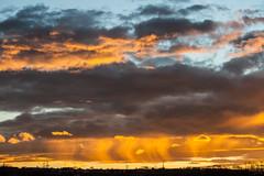 evening sky / @ 55 mm / 2019-03-07 (astrofreak81) Tags: explore clouds sunset sun wolken sonnenuntergang sonne sky himmel heaven light dawn redsky evening abend red orange dresden 20190307 astrofreak81 sylviomüller sylvio müller