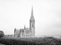 St Colman's Cathedral, Cobh (nikolaijan) Tags: fuji gs645s acros100 blackandwhite bw 120 645 cobh ireland stcolemans cork