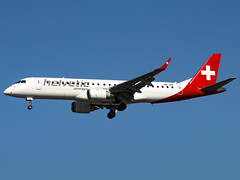 Helvetic Airways | Embraer ERJ-190LR | HB-JVN (Bradley's Aviation Photography) Tags: eglc lcy london londoncity londoncityairport canon70d aircraft aviation air airplane airport plane planespotting flying helveticairways embraererj190lr hbjvn e190