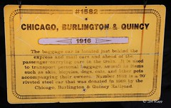 Burlington CB&Q Car (1916 baggage)b (edit) (MO FunGuy) Tags: nationalmuseumoftransportationstlouis train history burlington cbq