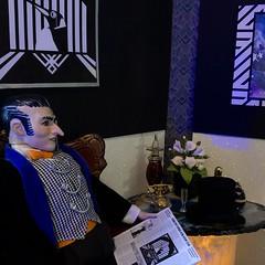 Front Page News (MaxxieJames) Tags: penguin oswald cobblepott dc dcu custom customised doll ooak ken barbie mattel gotham batman iceberg lounge