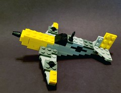 Messerschmitt Bf 109 (brickhistorian) Tags: plane planes luftwaffe german germany lego legos moc brick bricks build building ww2 war world wars wwii two messerschmitt pewpew