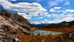 The Valparola lake in the Dolomites (Ostseetroll) Tags: belluno geo:lat=4653164247 geo:lon=1198860697 geotagged ita italien valparolapass dolomites valparolasee dolomiten dolomiti alpen alps passodivalparola