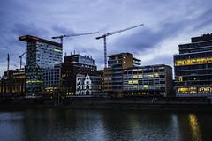 Düsseldorf0136Zollhafen (schulzharri) Tags: düsseldorf nrw deutschland germany europa europe architektur architecture glas modern haus building