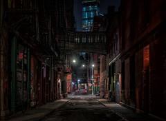 HDR is dead, long live HDR! (reinaroundtheglobe) Tags: newyork ny urban street urbanart dark night nightphotography newyorkcity staplestreet downtown reiniersnijders reinaroundtheglobe