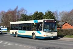 Arriva Buses Wales - X701DBT, 8251 (M.R.P Photography) Tags: arriva arrivacymru arrivabuseswales arrivanorthwest volvo volvob10ble wrightbus wrightbusrenown x701dbt 8251 2701