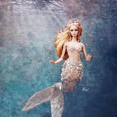 Kai ‍♀️ (pure_embers) Tags: pure embers doll dolls uk pureembers photography laura england kai poppy parker emberskai rimdoll ooak repaint portrait mermaid underwater water