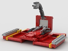 lego Transformers G1 Ironhide moc (KaijuWorld) Tags: lego moc custom g1 transformers ironhide toyota van battle platform autobot ldd