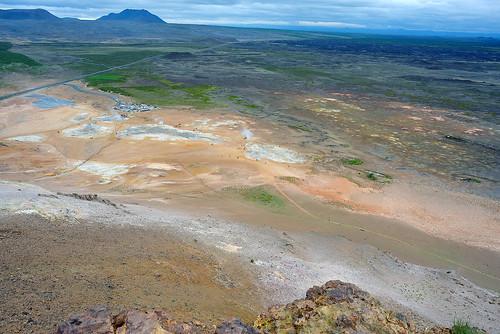 View of Hverir, Iceland