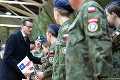 Piknik z okazji 20-lecia wstąpienia Polski do NATO w Rzeszowie (Kancelaria Premiera) Tags: premier mateuszmorawiecki rzeszów nato piknik mon